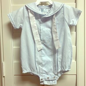 Petit Ami infant boys sailor outfit. Like new.